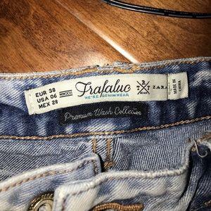 Zara Jeans - Ripped Boyfriend Jeans